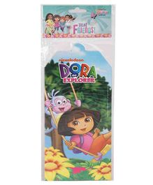 Dora Invitation Card Pack Of 10 - Multicolour