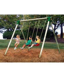 Little Tikes - Oslo Wood Swing Set 3 In 1