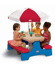 Little Tikes - Easy Store Large Picnic Table