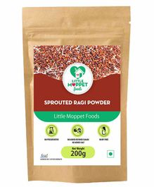 Little Moppet Foods Sprouted Ragi Powder - 200 gm