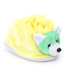 Morison Baby Dreams Baby Booties - Yellow Light Green