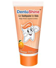 DentoShine Orange Flavoured Gel Toothpaste - 80 gm