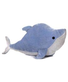 Play N Pets - Soft Toy Whale Blue