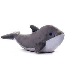 Play N Pets - Soft Toy Dolphin Grey