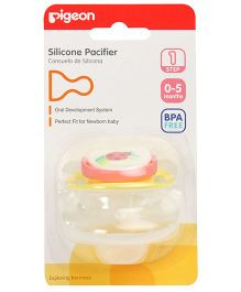 Pigeon - Silicone Pacifier BPA Free Step 1