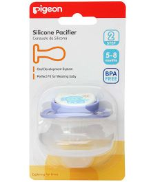 Pigeon - Silicone Pacifier BPA Free Step 2