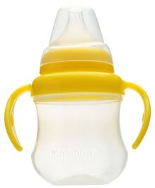 Pigeon Mag Mag Spout Cup with Handle Yellow 200 ml