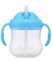 Pigeon Mag Mag Straw Cup with Handle Blue 200 ml