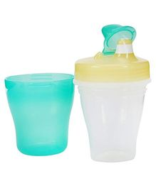 Pigeon Double Layer Sucking Cup 260 ml (Color May Vary)