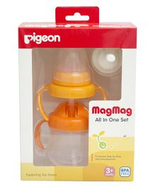 Pigeon - Mag Mag All in One Set Orange