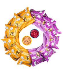 The Mumum Co Multi Flavoured Crunchies Pack of 8 - 20 gm Each