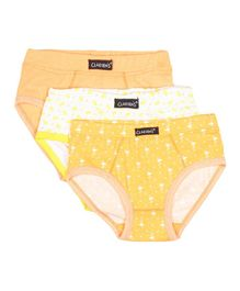 Claesens Holland Inner Wear Pack of 3 - Yellow
