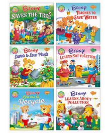 Story Books Pack of 6 - English