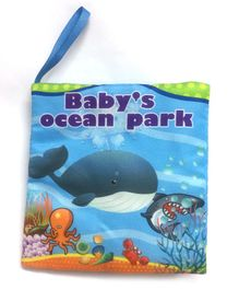 2 Footya Ocean Themed Cloth Book - English