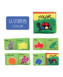 2 Footya Colour Themed Cloth Book - English