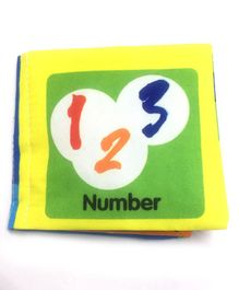 2 Footya Number Themed Cloth Book - English