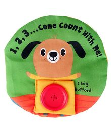 2 Footya Counting Cloth Book - Multi Colour