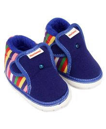 Morisons Baby Dreams Musical Booties - Blue