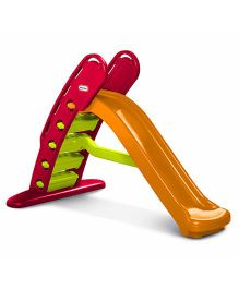 Little Tikes Giant Slide - Green And Yellow