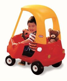 Little Tikes Cozy Coupe - Red And Yellow