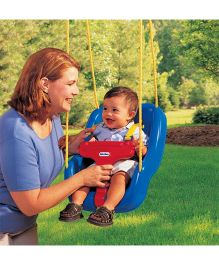 Little Tikes 2 In 1 Snug n Secure Swing - Blue
