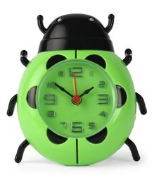 Bug Shaped Alarm Clock - Green & Black