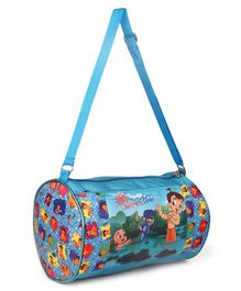 Chhota Bheem Duffel Bag Blue - Height  9 inches