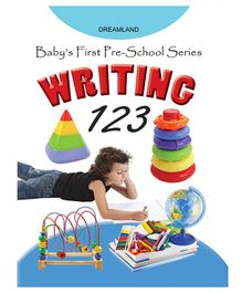 Baby's First Pre-School Series Number Writing Book - English