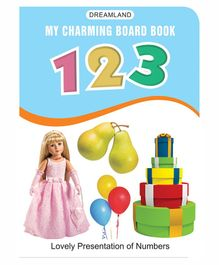 My Charming Numbers Board Book - English