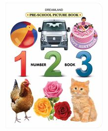 Pre School Picture Number Book - English