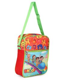 Chhota Bheem Sling Bag Orange - Height 11 inches