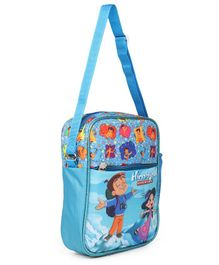 Chhota Bheem & Chutki Himalayan Adventure Sling Bag Blue - Height 11 inches