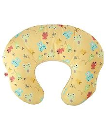 Bright Starts 2 in 1 Feeding Pillow Baby Lounger - Cream