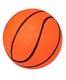 Emob High Quality PVC Basketball Orange - 6 inches