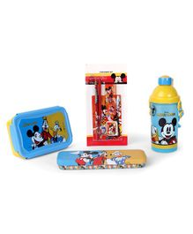 Disney Mickey Mouse And Friends School Kit blue - Pack of 4