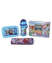 Disney Frozen School Kit Blue - Pack Of 4