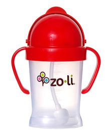 Zoli BOT Sipper Cup With Handles Red - 175 ml