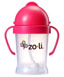 Zoli BOT Sipper Cup With Handles Pink - 175 ml