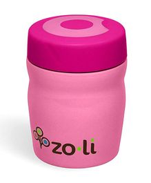 ZoLi Dine Stainless Steel Insulated Food Jar- Pink