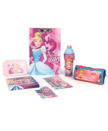Disney Princess Cinderella School Kit Pack of 7 - Pink