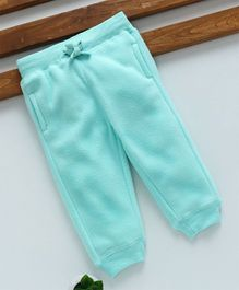Fox Baby Full Length Thermal Lounge Pant with Drawstring - Light Blue