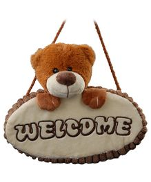 Play N Pets - Teddy Bear Door Hanger Brown