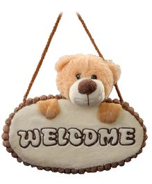 Play N Pets - Teddy Bear Door Hanger Light Brown