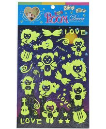 Fab N Funky Wall Sticker - Cupid Theme