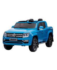 GetBest Officially Licensed Volkswagen 24V Battery Operated Ride on SUV Car - Blue