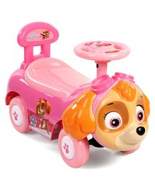 Paw Patrol Skye Manual Push Ride-On Car - Pink