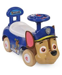 Paw Patrol Chase Manual Ride On Car - Blue