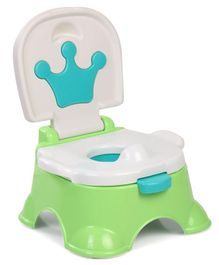 Baby Potty Chair With Lid - Green