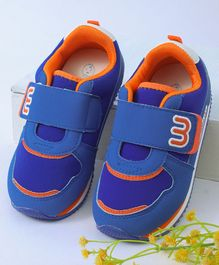 Kidlingss Velcro Strap Shoes - Blue