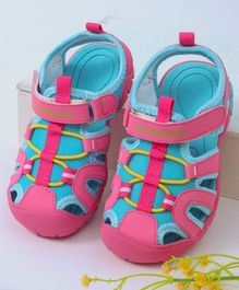 Kidlingss Dual Colour Sandals - Pink